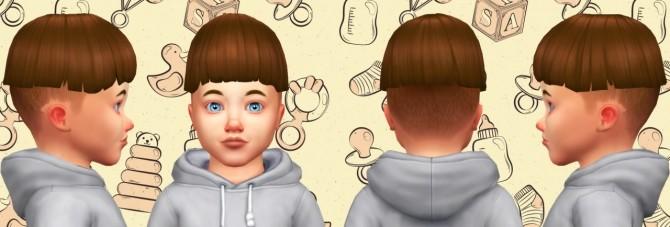 Tiny Bowl Hair at Simduction image 5201 670x227 Sims 4 Updates