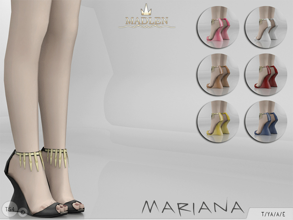 Madlen Mariana Shoes by MJ95 at TSR image 533 Sims 4 Updates