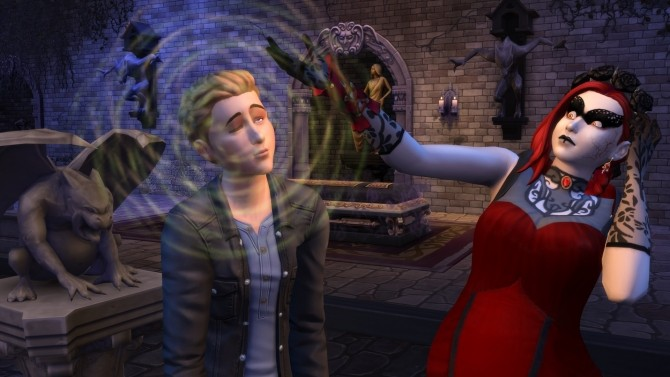 The Sims 4 Vampires Game Pack announced at The Sims™ News image 534 670x377 Sims 4 Updates