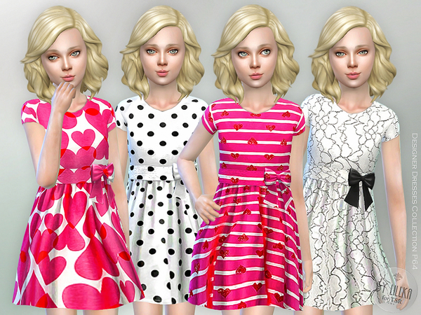 Designer Dresses Collection P64 by lillka at TSR image 536 Sims 4 Updates
