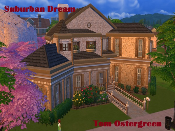 Suburban Dream by TomOstergreen at TSR image 54 Sims 4 Updates