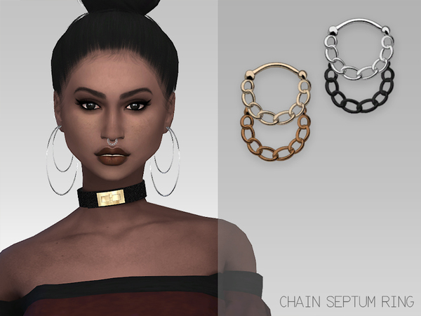Sims  Jewelry Nose Ring