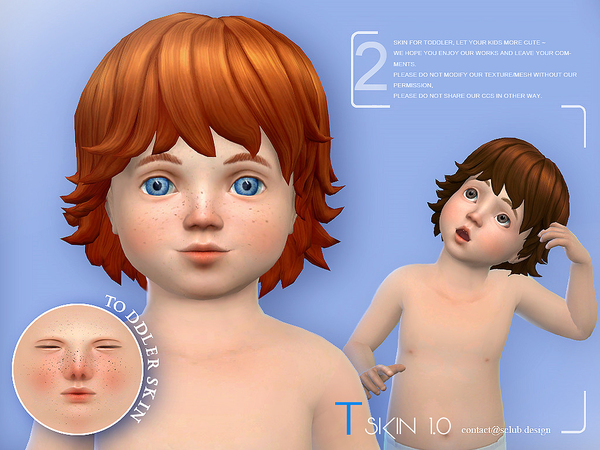 Sims 4 Skin 1.0 by S Club WMLL at TSR