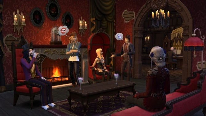 The Sims 4 Vampires Game Pack announced at The Sims™ News image 555 670x377 Sims 4 Updates