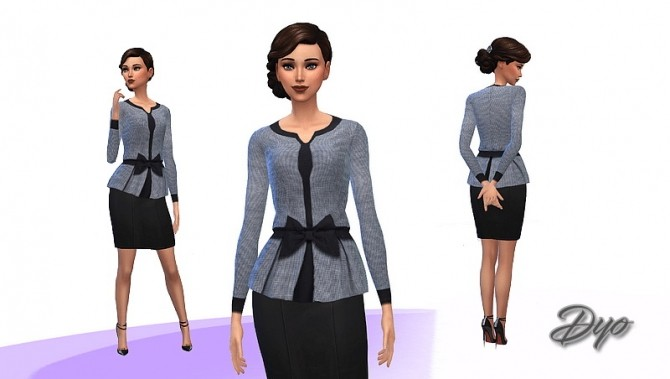 Grey and black jacket by Dyokabb at Les Sims4 image 5610 670x379 Sims 4 Updates