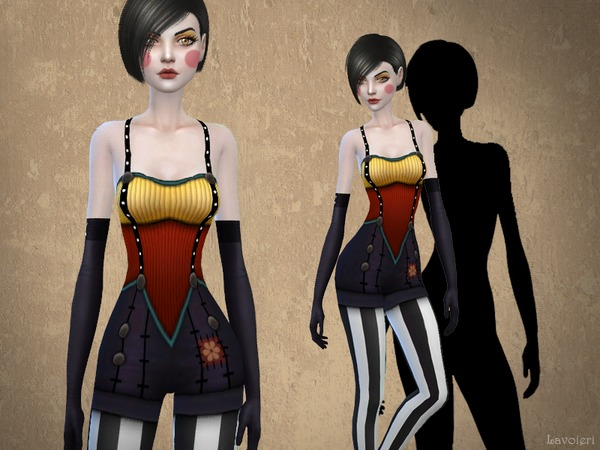 Dawn Contrast Outfit by Lavoieri at TSR image 5617 Sims 4 Updates