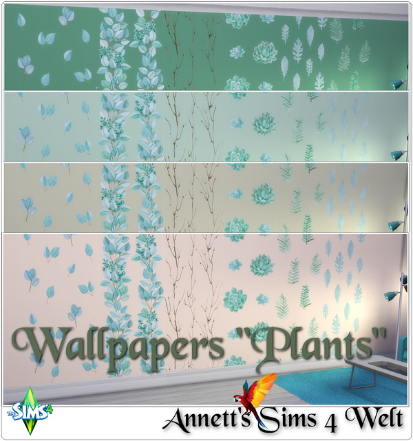 Plants wallpapers at Annett's Sims 4 Welt image 562 Sims 4 Updates