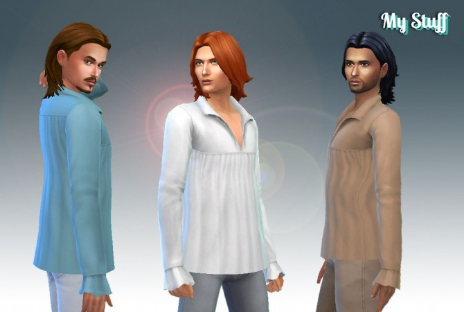 Medieval Men Top at My Stuff image 565 670x450 Sims 4 Updates