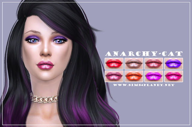 Lips #7 at Anarchy Cat image 576 Sims 4 Updates