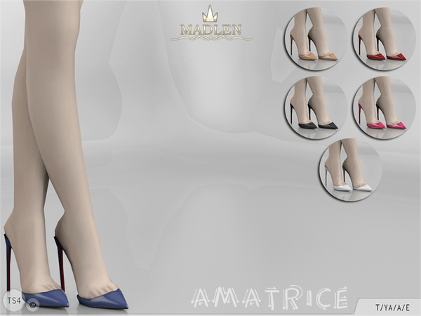 Madlen Amatrice Shoes by MJ95 at TSR image 58 Sims 4 Updates
