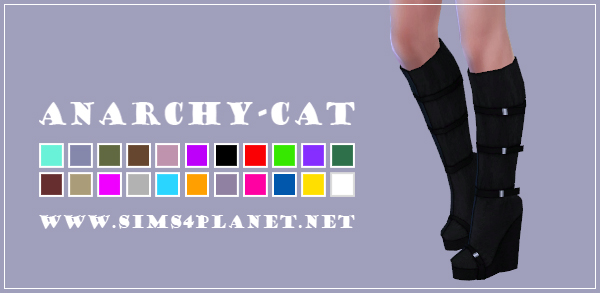 Madlen Elumina Boots at Anarchy Cat image 586 Sims 4 Updates