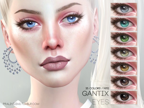 Gantix Eyes N112 by Pralinesims at TSR image 59 Sims 4 Updates