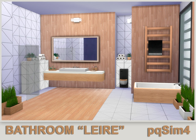 Leire bathroom by Mary Jiménez at pqSims4 image 595 Sims 4 Updates