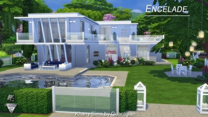 ENCELADE house by Guardgian at Khany Sims image 601 670x377 Sims 4 Updates