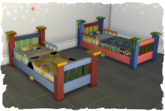 Toddler Bed By Chalipo At All 4 Sims Sims 4 Updates