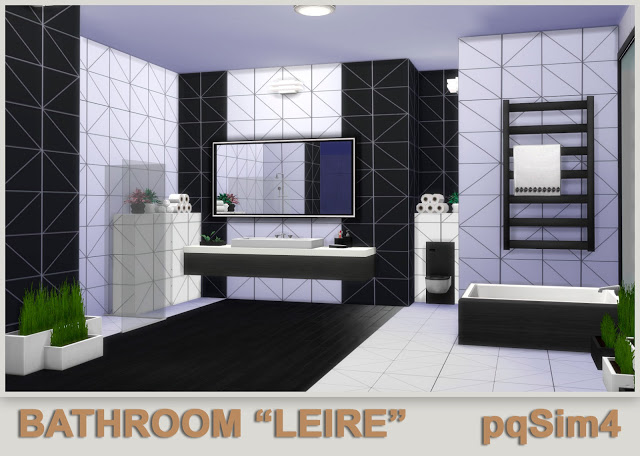 Leire bathroom by Mary Jiménez at pqSims4 image 605 Sims 4 Updates
