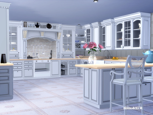 Julia kitchen by ShinoKCR at TSR image 61 Sims 4 Updates