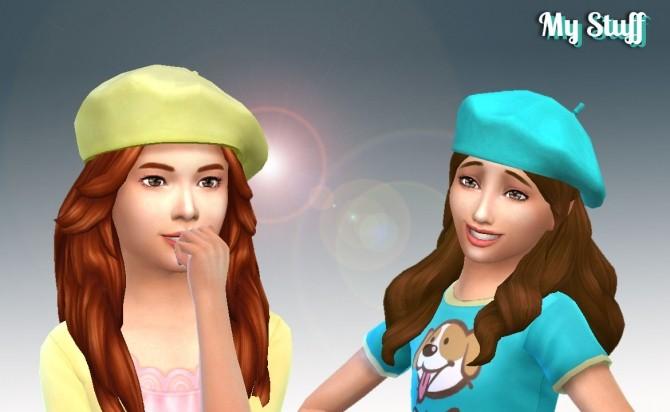 Sims 4 Beret Critic Conversion at My Stuff