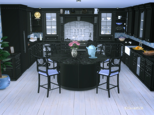 Julia kitchen by ShinoKCR at TSR image 62 Sims 4 Updates