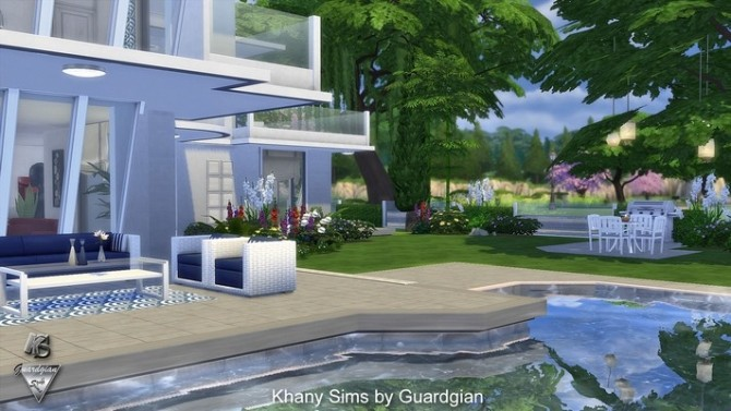 ENCELADE house by Guardgian at Khany Sims image 621 670x377 Sims 4 Updates