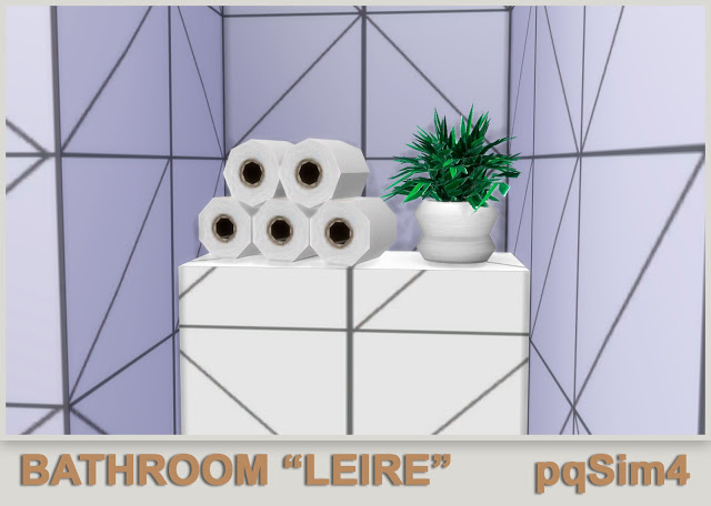 Leire bathroom by Mary Jiménez at pqSims4 image 624 Sims 4 Updates
