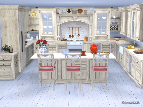 Julia kitchen by ShinoKCR at TSR image 63 Sims 4 Updates