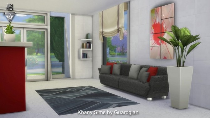 Sims 4 ENCELADE house by Guardgian at Khany Sims