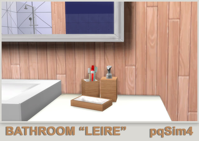 Leire bathroom by Mary Jiménez at pqSims4 image 644 Sims 4 Updates