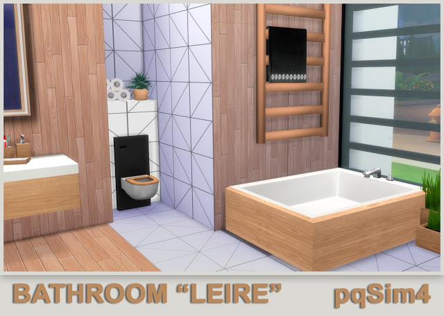 Leire bathroom by Mary Jiménez at pqSims4 image 655 Sims 4 Updates