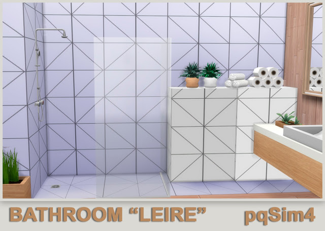 Leire bathroom by Mary Jiménez at pqSims4 image 665 Sims 4 Updates
