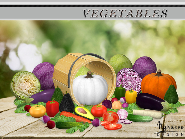 Sims 4 Vegetables by NynaeveDesign at TSR