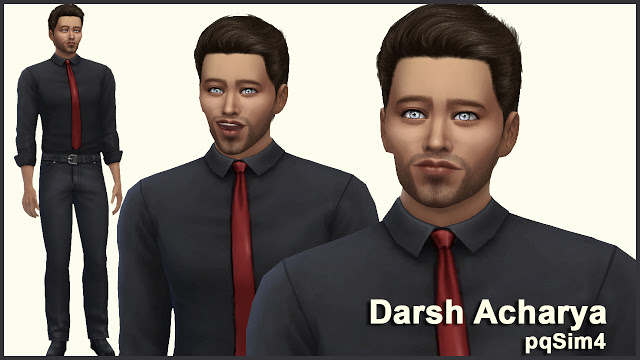 Darsh Acharya by Mary Jiménez at pqSims4 image 675 Sims 4 Updates