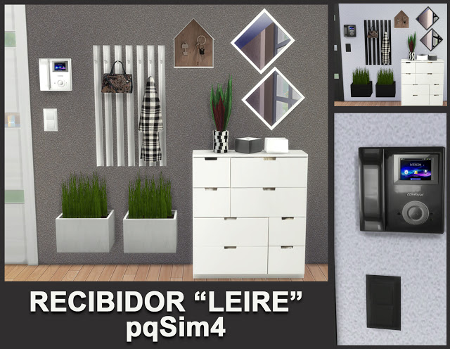 Leire hallway by Mary Jiménez at pqSims4 image 691 Sims 4 Updates