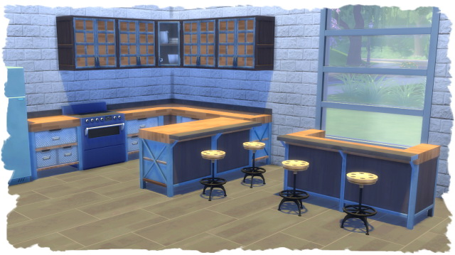Industrial Kitchen recolors by Chalipo at All 4 Sims image 695 Sims 4 Updates