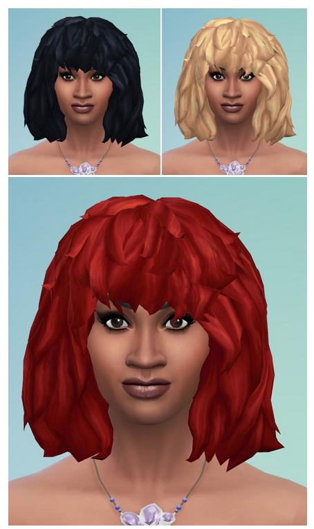 Sims 4 TinaT Hair mono at Birksches Sims Blog