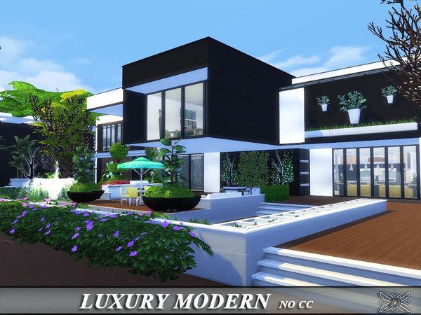 Luxury modern house by Danuta720 at TSR image 708 Sims 4 Updates