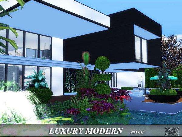 Luxury modern house by Danuta720 at TSR image 7112 Sims 4 Updates