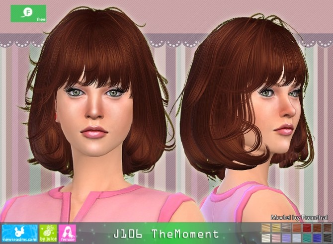 J106 TheMoment hair (free) at Newsea Sims 4 image 7114 670x491 Sims 4 Updates