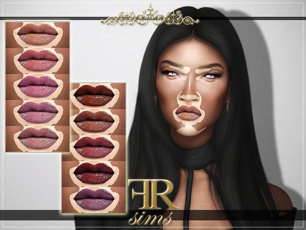 Sims 4 FRS Lipstick N21 by FashionRoyaltySims at TSR