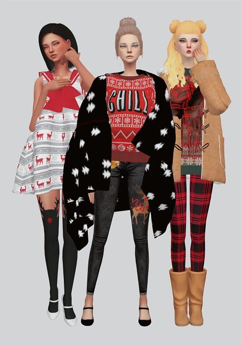 Christmas Pack at Kalewa a image 721 Sims 4 Updates