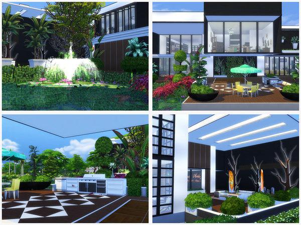 Luxury modern house by Danuta720 at TSR image 7210 Sims 4 Updates