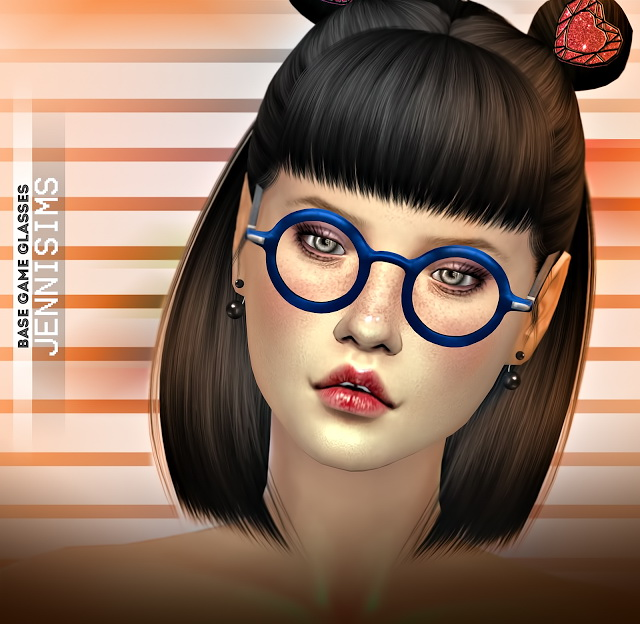 Collection Glasses Vintage Base Game compatible (2 versions) at Jenni Sims image 7310 Sims 4 Updates