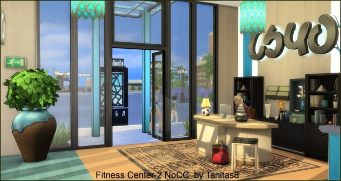 Fitness Center 2 NoCC at Tanitas8 Sims image 736 670x356 Sims 4 Updates