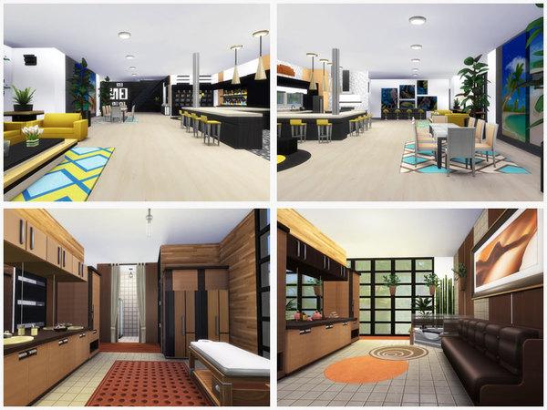 Sims 4 Luxury modern house by Danuta720 at TSR