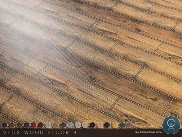 Sims 4 VEOX Wood Floor 4 by Pralinesims at TSR