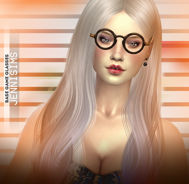 Collection Glasses Vintage Base Game compatible (2 versions) at Jenni Sims image 7410 Sims 4 Updates