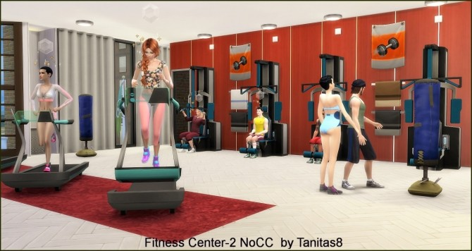 Fitness Center 2 NoCC at Tanitas8 Sims image 746 670x356 Sims 4 Updates