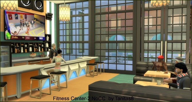 Fitness Center 2 NoCC at Tanitas8 Sims image 754 670x356 Sims 4 Updates