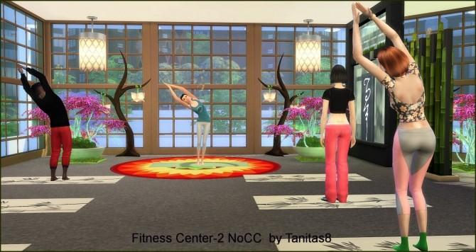 Sims 4 Fitness Center 2 NoCC at Tanitas8 Sims