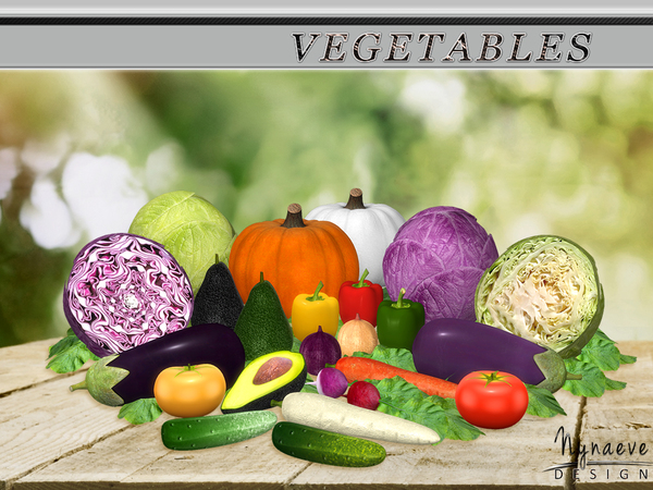 Vegetables by NynaeveDesign at TSR image 770 Sims 4 Updates